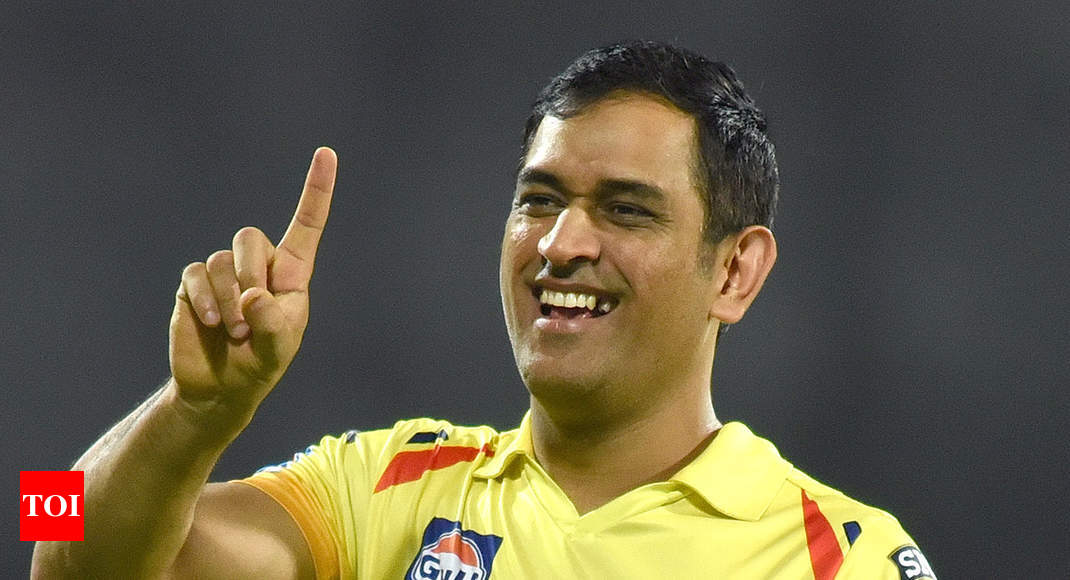 IPL 2019: Won't reveal the CSK success mantra until I retire, says a cheeky MS Dhoni - Times of India