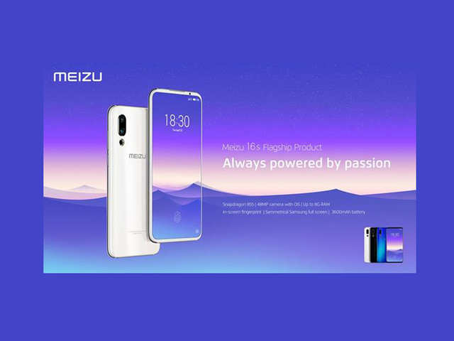 Meizu 16s with Qualcomm Snapdragon 855 and 20-megapixel front camera launched