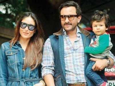 Kareena: Saif blames me for spoiling Taimur