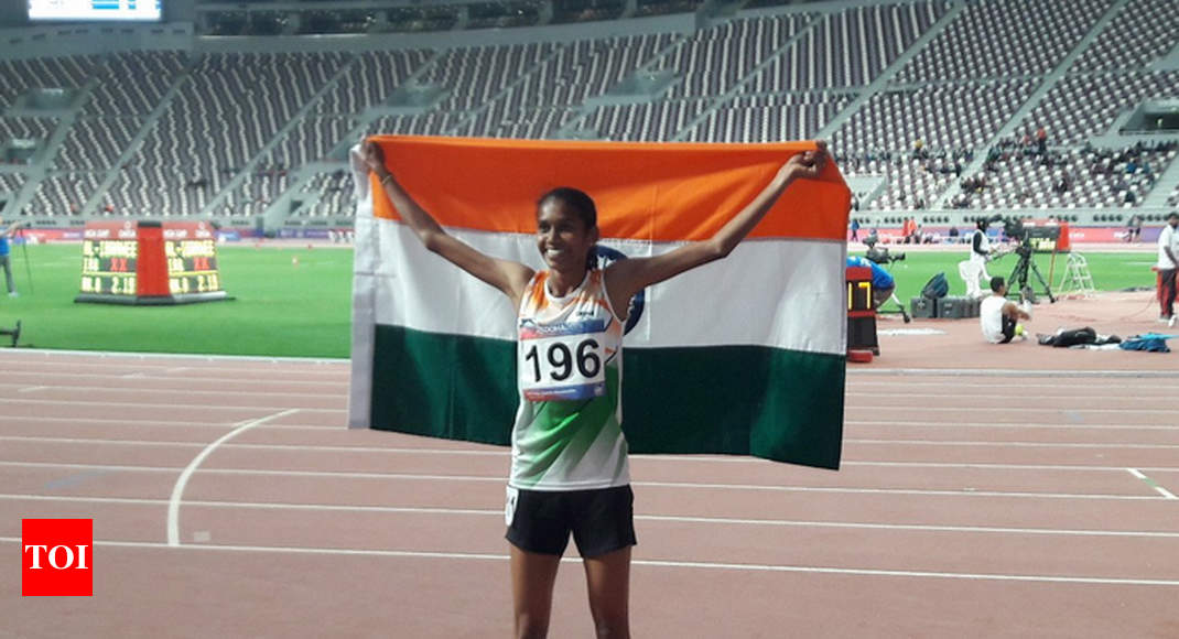PU Chitra wins third gold for India at Asian Athletics Championships - Times of India
