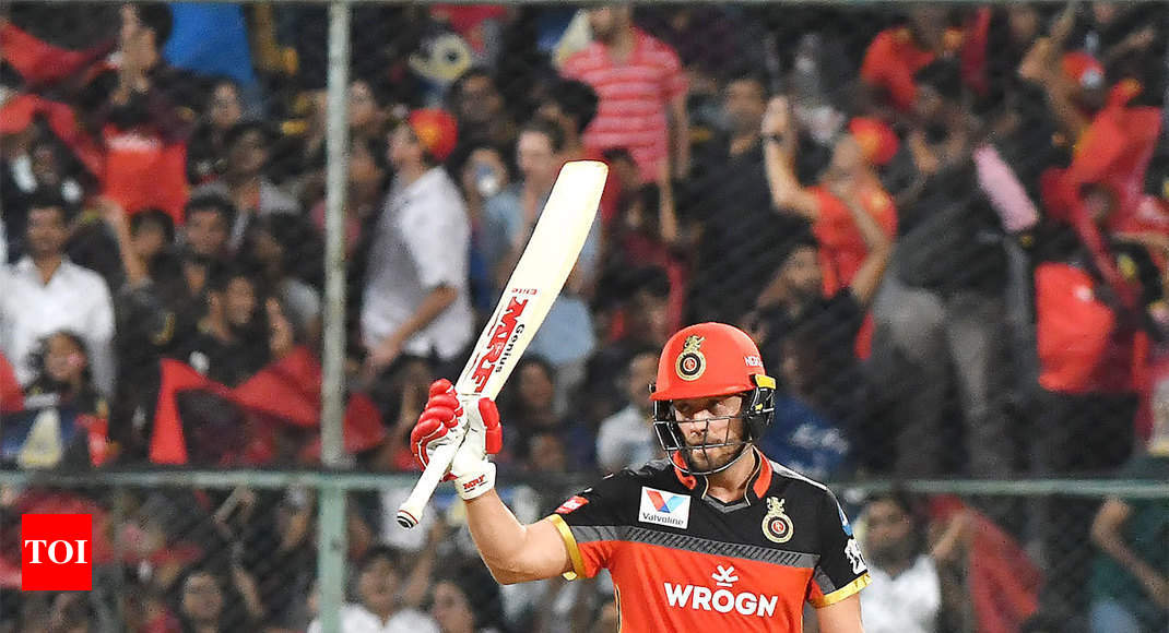 IPL 2019: AB de Villiers, Navdeep Saini star as Royal Challengers Bangalore beat Kings XI Punjab by 17 runs