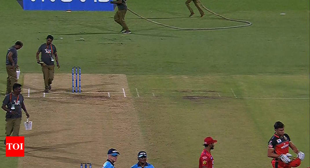 IPL 2019: Lost ball halts play as umpire pockets it and forgets