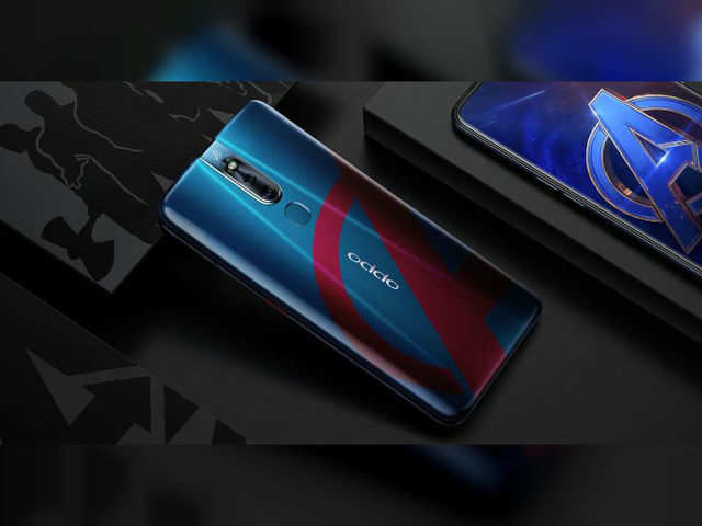 OPPO F11 Pro: Oppo F11 Pro Avengers Endgame Edition launched