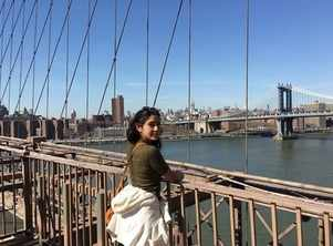 Sara shares throwback pic from her NY vacay
