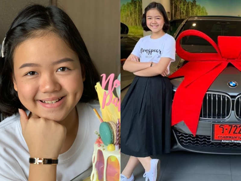 This 12-year-old just bought herself a BMW for her birthday!