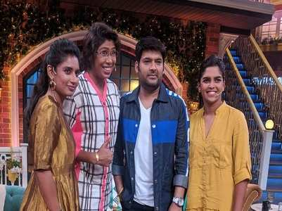 Indian women cricketers on TKSS