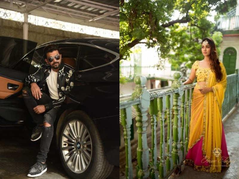 Arun Vijay and Nivetha in director Karthik's movie