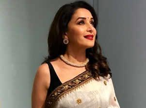 29f4fdd5f85f Most gorgeous saris worn by Madhuri Dixit
