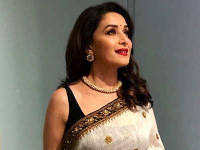 Most gorgeous saris worn by Madhuri Dixit