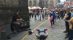 Model posts photos pretending to be dead at famous tourist locations