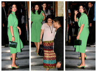 Photos: PC steps out for dinner with mother