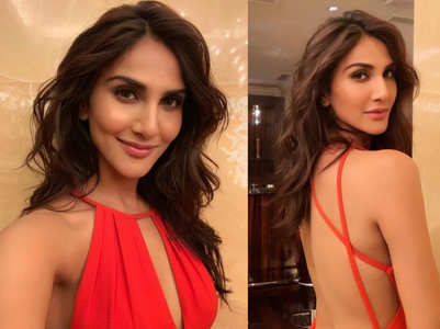 Vaani Kapoor flaunts her sexy back in this dress