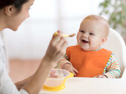 Why you should never blow on your baby's food