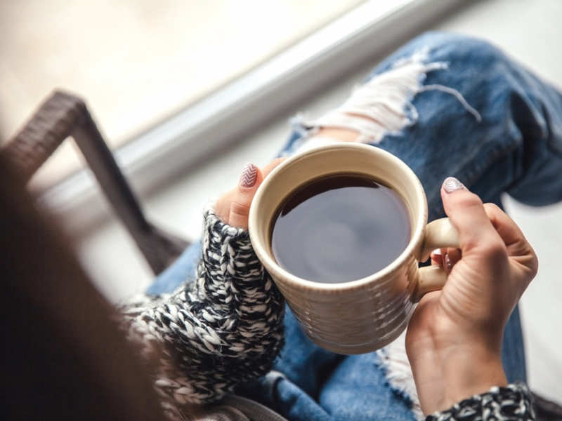Why should you avoid coffee on an empty stomach - Times of India