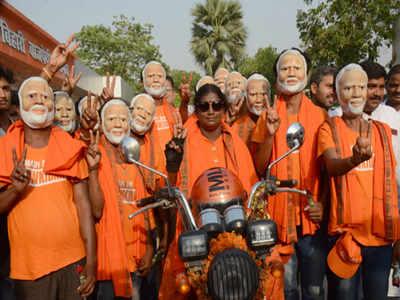 BJP bikers from Tamil Nadu reach Bihar | Patna News - Times