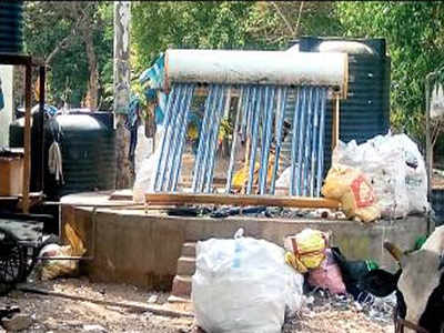 Domlur biogas plant turns haven for drug addicts, cattle