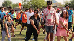 Jaipurites' fitness party to celebrate a healthy Sunday
