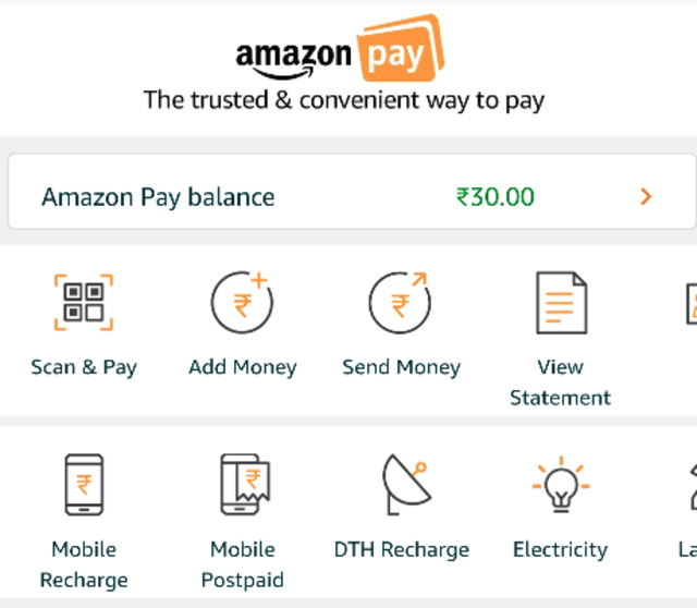 Now use Amazon app to scan-and-pay like Paytm, Google Pay