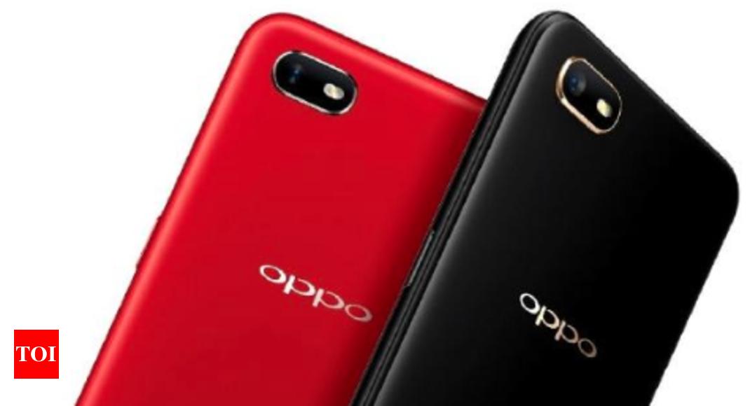 oppo a1k: Oppo A1K with water drop notch, MediaTek Helio P22