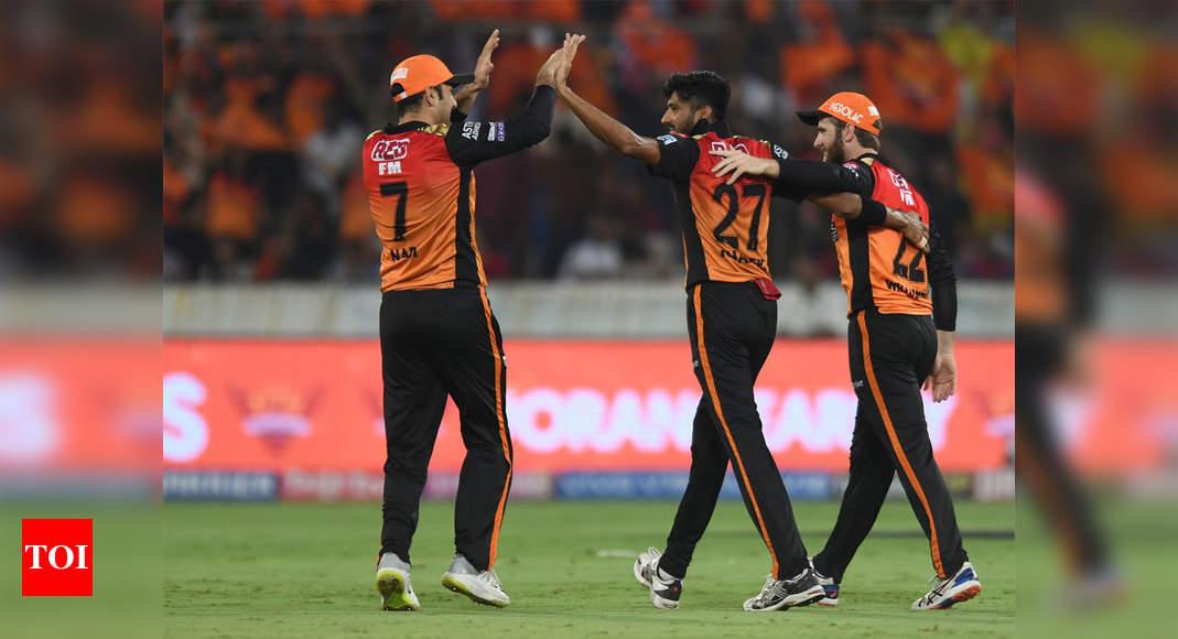 Srh Vs Kxip Highlights Ipl 2019 Sunrisers Hyderabad Thrash Kings Xi Punjab By 45 Runs Cricket News Times Of India