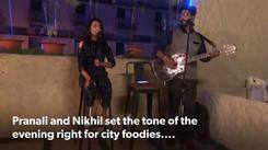 Musical evenings for the city foodies