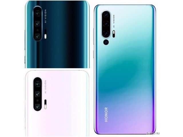Honor 20 Pro's three new colour variants  leaked online, reveal camera details