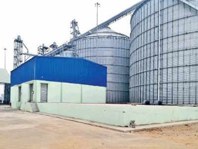 Barnala gets steel silos for grain storage of up to 50,000