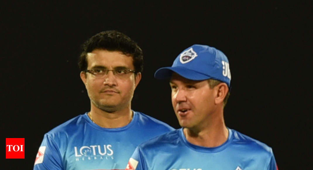 Ricky Ponting can be a great candidate for India coach: Sourav Ganguly
