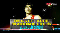 Vijender Singh: Politics is a lot like boxing, but with below-the-belt blows