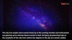 Puneites' celestial calendar is lined up with interesting events