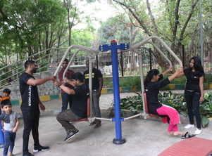 Bengaluru gets fit at public parks