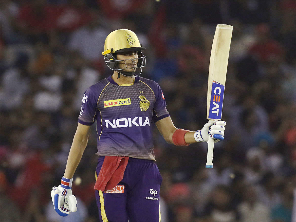 KXIP vs KKR: Shubman Gill keeps KKR playoff hopes alive | Cricket News - Times of India