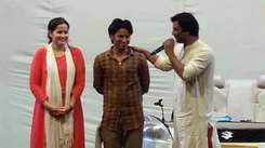 Netri Trivedi reacts after watching Abhinay Banker's new play in Ahmedabad