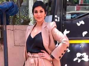 Actress Sonali Bendre in Bengaluru