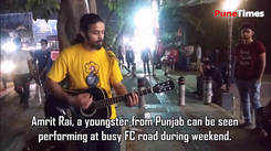 Listen to this beautiful song of Atif Aslam performed by street performer
