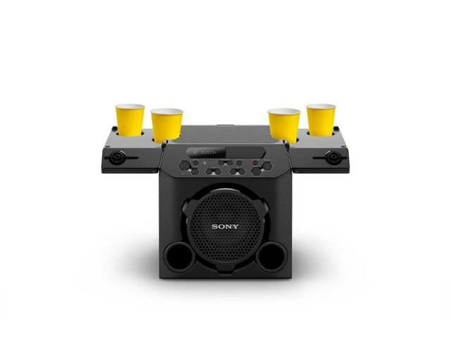 Sony launches 'GTK-PG10' party speaker with cup holders in India