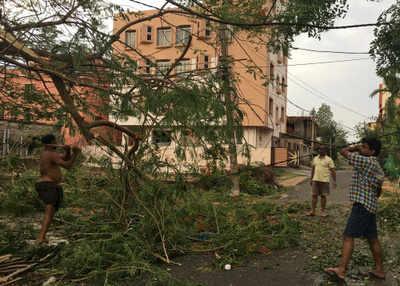 Fine Cyclone Fani Turns Swachh Capital Into Waste Land Bhubaneswar News Wiring Cloud Nuvitbieswglorg