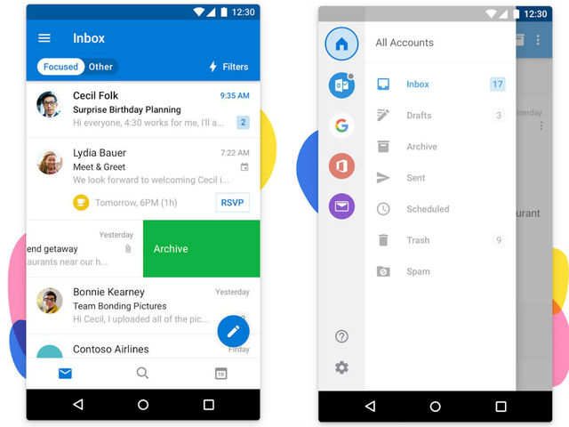 Outlook Mails Android iOS: Microsoft makes email-handling