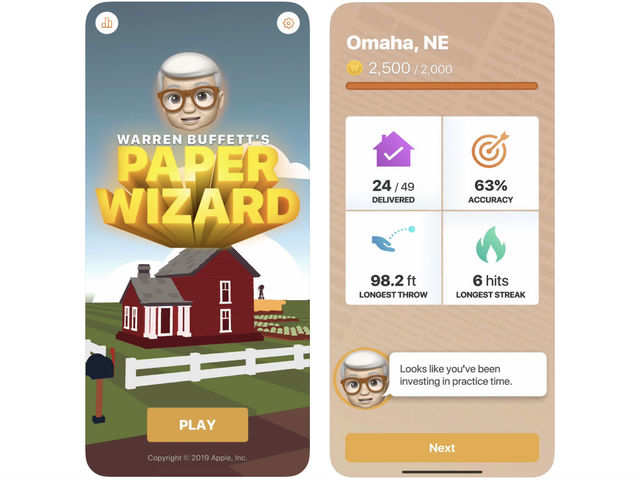 Apple launches 'its own' game on App Store that features Warren Buffett