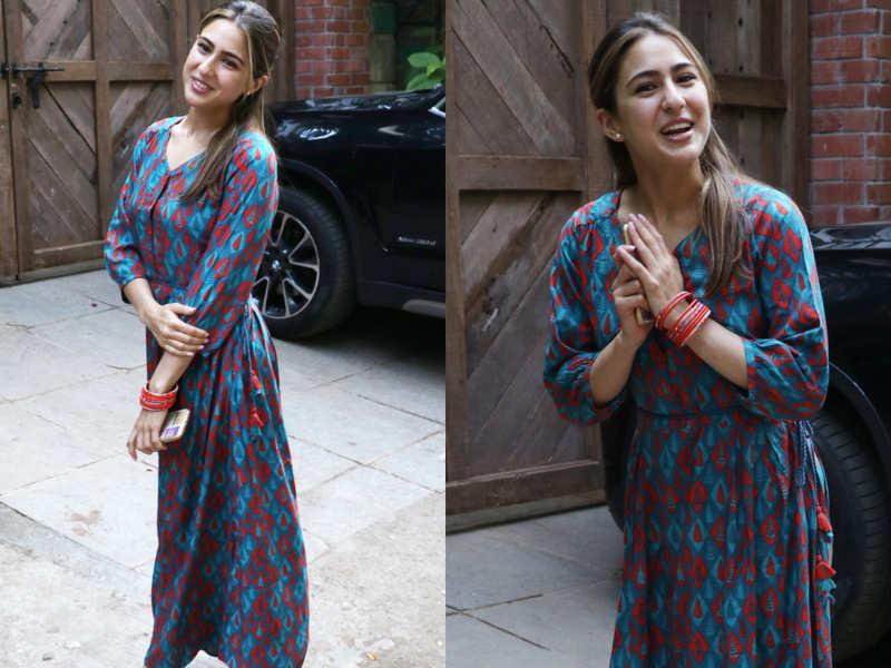 Sara Ali Khan looks stunning in this summery maxi dress