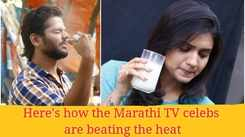 From Hruta to Yashoman, here's how the Marathi TV celebs are beating the heat
