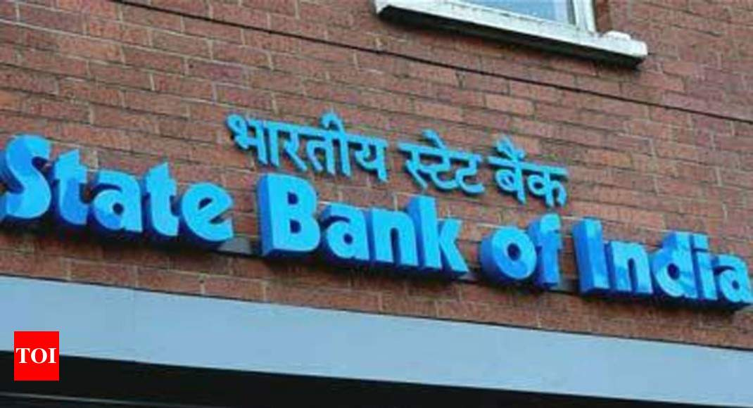 SBI reports net profit of Rs 838 crore in Q4 - Times of India