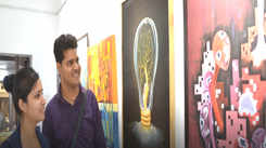 A painting exhibition on women empowerment held in Kanpur