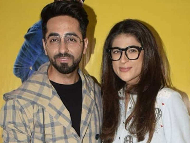 Tahira Kashyap feels husband Ayushmann Khurrana has a knack of sniffing out amazing scripts