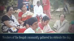 Bengali community organised a musical evening at Dhantoli Park
