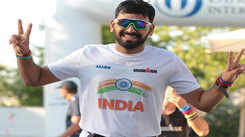 This teacher from Kota has completed Ironman thrice!