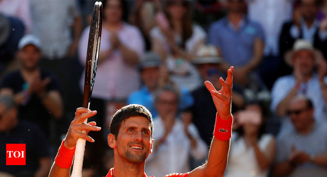 Djokovic edges past Thiem to reach Madrid Open final