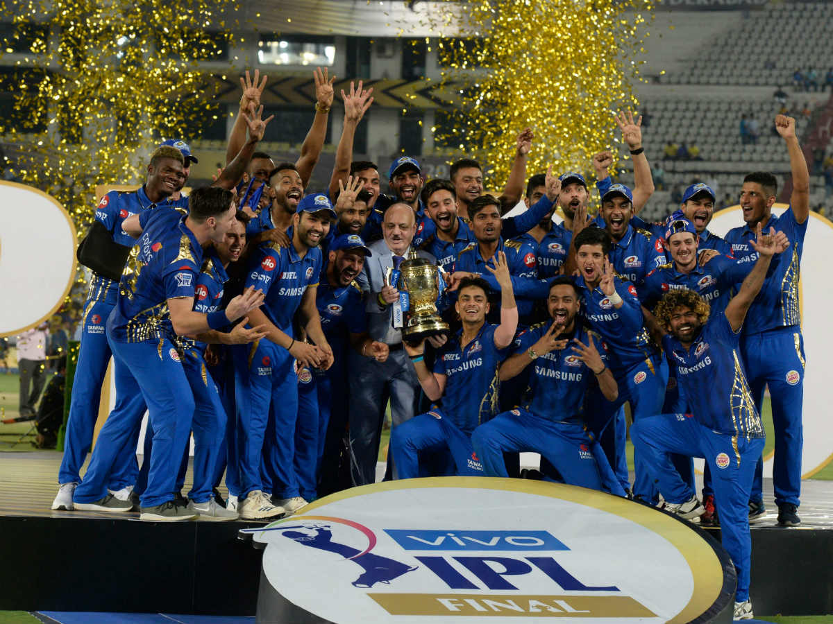 Mi Vs Csk Highlights Ipl Final 2019 Mumbai Indians Beat Chennai Super Kings By 1 Run To Win Record Fourth Title Cricket News Times Of India