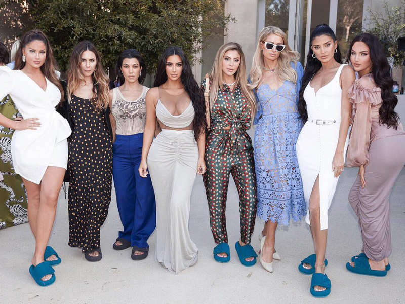 Kim Kardashian S Grand Baby Shower Before Welcoming Her Son See Pics Times Of India