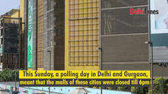 Voting in Delhi and Gurgaon bumps up footfall in Noida malls by 30%